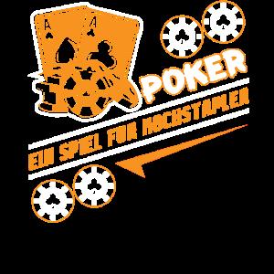 Poker Pokern Pokerspieler Pokerface Geschenk