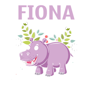 Hippo Fiona Is My Spirit Animal Tshirt