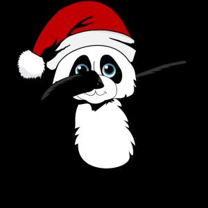 Panda Dabbing Weihnachten