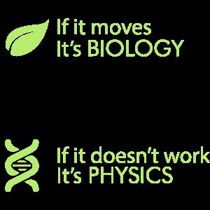 Biology - Chemistry - Physics