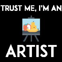 Vertrauen Sie mir, ich bin ein Künstler