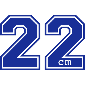 22 Zentimeter
