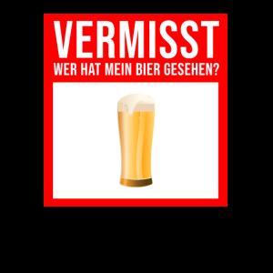 Männergeschenk Vatertag - Papa Vermisst Bier