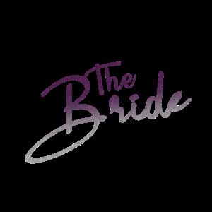 The Bride white Souvenir, Gift, Gift Idea