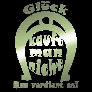 Hufeisen Glueck verdient man
