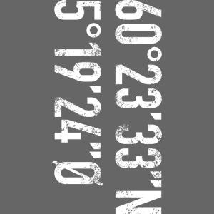 Bergen koordinater (fra Det norske plagg)