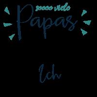 Vatertag Kindershirt - So viele Papas auf der Welt