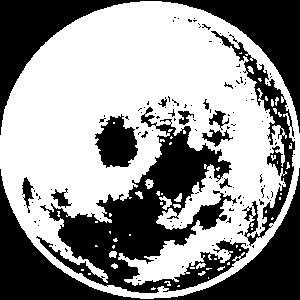 Wo ist der Mond
