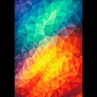 Abstrakte Dreiecke/Geometrie Color - Handycase