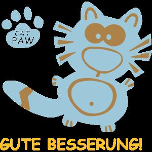 Gute Besserung Geschenke Katzen Katze Geschenk Cat