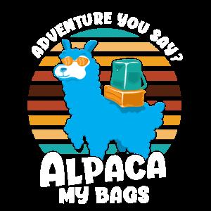 Adventure You Say? Alpaca My Bags - Vintage Kids