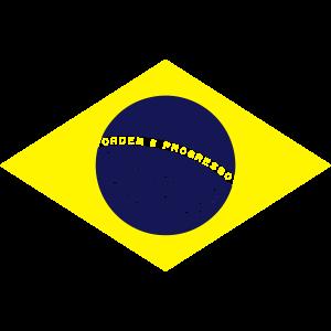 Brasilien Flagge Fahne, Farbe, Fußball, Rio WM
