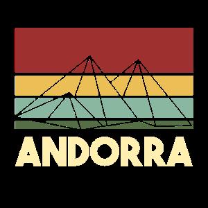 Andorra Pyrenaeen gebirge