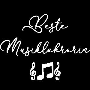 Beste Musik Lehrerin Geschenk