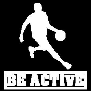 Sei Aktiv Sportler Basketball