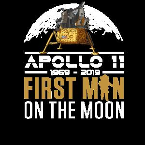 50 Jahre Apollo 11 Erster Mann auf dem Mond