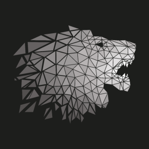 Löwe Origami Polygon