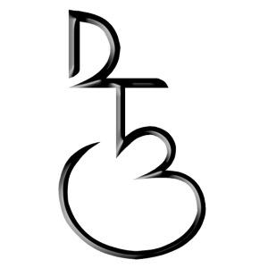 DTB initials blk