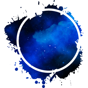 circle blue Kreis Blau