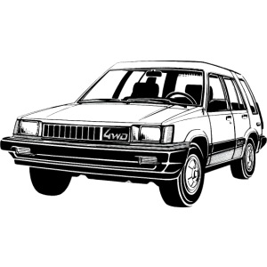 Tercel 4WD illustration - Autonaut.com