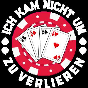 Poker Pokern Kartenspiel Pokerface Geschenk