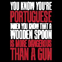 Portugiesischer Holzlöffel ist gefährlicher als A