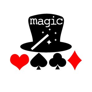 Magier mit Zaubertricks