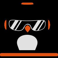 Pinguin Deejay Mischpult