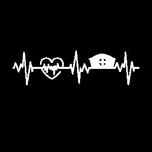 Krankenschwester Herzschlag Beruf EKG Krankenhaus