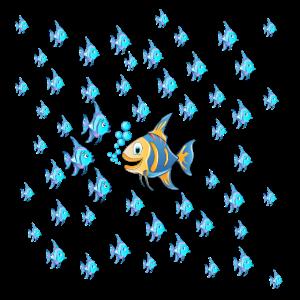Gegen den Strom | Fische | Anti-Shirt