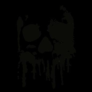 Totenkopf, Skull, Splash