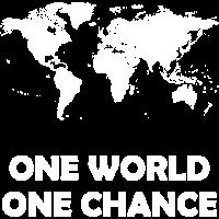 Klimaschutz - Eine Welt, eine Chance - weiss