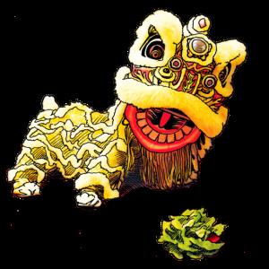 Löwentanz - Chinesisches Neujahr