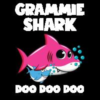 Grammie Shark Shirt Mothers Day Gift Idea
