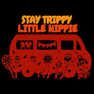Sommer Hippie Retro Bus Design