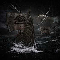 Wikinger Schiffe Valknut Sturm Blitz Geschenk