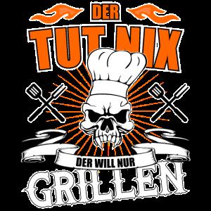 Der tut nix der will nur Grillen - Barbecue Grill