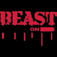 Beast Mode On An Blut Graffit