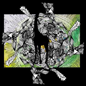 Psychodelic Giraffe Mandala