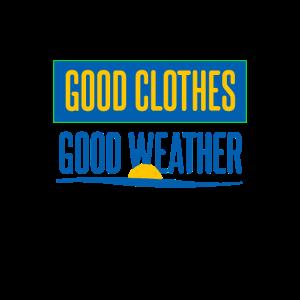 Schweden gute Kleidung gutes Wetter