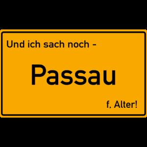 Passau Ortsschild