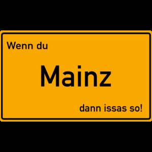 Mainz Ortsschild