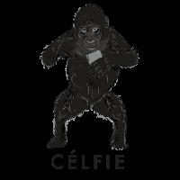 Selfie Design: Célfie Monkey