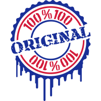Cool 100 % Original Stempel