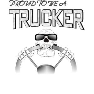 Trucker / Fernfahrer Motiv