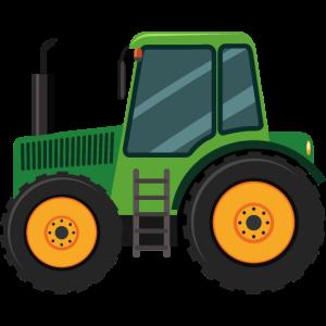 Traktor Trecker Bauernhof Landwirt Geschenk Kind