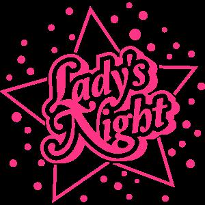 Ladys Night Stern Logo