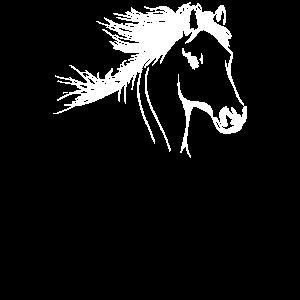 Pferde Reiter Pferdekopf Pony Haflinger Geschenk