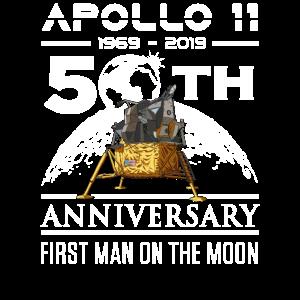 50 Jahre Apollo 11 1969 mit Lunar Lander