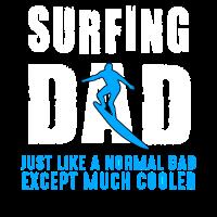 Surfen Surfer Vater Surfbrett Surfergirl Geschenk